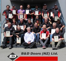 B&D Manufacturing Graduation Ceremony