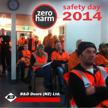 B&D Safety Day 2014