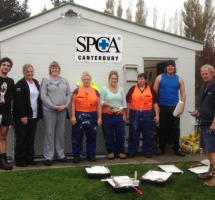B&D Doors Staff Help Out SPCA Canterbury