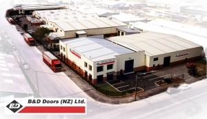 B&D Doors Christchurch Manufacturing Site